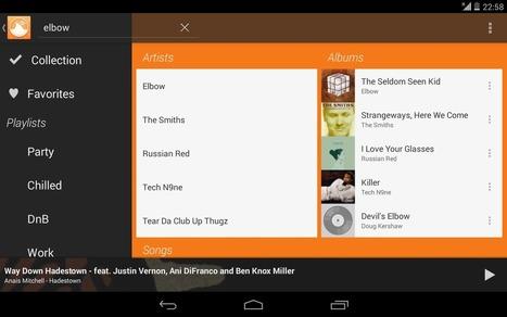Lecteur musique Android : les meilleures applications gratuites | Bon APPétit! | Scoop.it