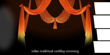 Indian Traditional Wedding Ceremony PSD File Free Download