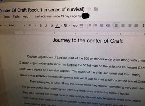 Using Google Docs to Enhance Being a Writer | Developmental Studies Center | GoogleDocs in Education | Scoop.it