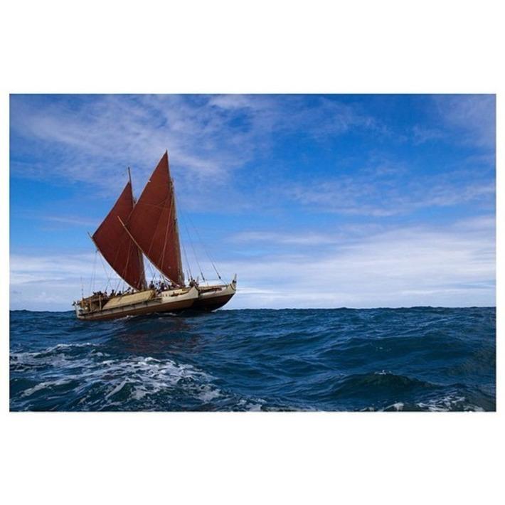 Arrivée de Hokule'a à Papeete: 5.400 km à la voile et sans instruments | Tahiti Infos | Kiosque du monde : Océanie | Scoop.it