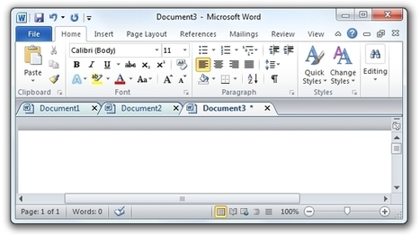 Office Tab – Des onglets sous Word, Excel et Powerpoint (Office) | Time to Learn | Scoop.it