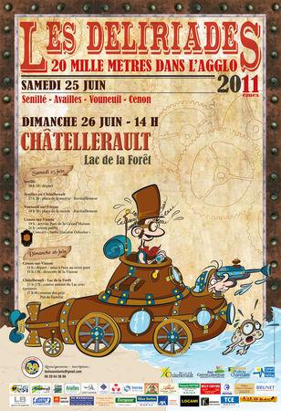 Les Déliriades 11 | ChâtelleraultActu | Scoop.it