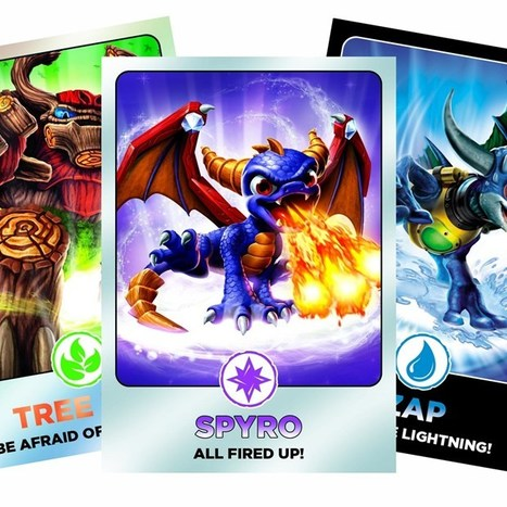 Skylanders Giants collector cards excite the GeekDad household (Wired UK) | Everything Meags! | Scoop.it