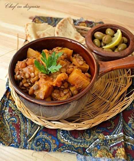 Pumpkin and lentil in tomatosauce   Food for Foodies   Scoop.it