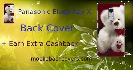 new concept c2cab afc82 ₹156/- Panasonic Eluga Ray X Back Cover F...