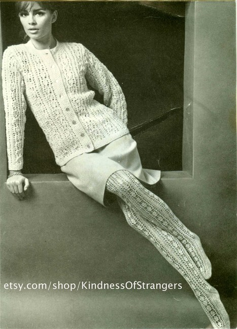You'll Have A Knit Fit When You See This Hosiery! | Vintage Living Today For A Future Tomorrow | Scoop.it