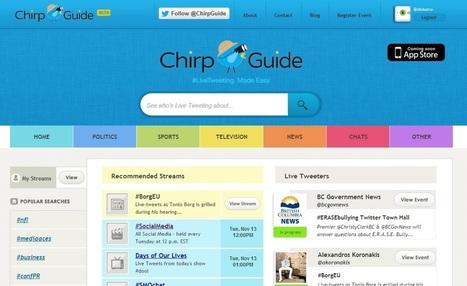 Qu'est-ce qu'un live-tweet ? De l'intérêt de Twitter pour les organisateurs d'événements   ressources animation réseau   Scoop.it
