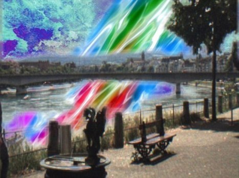 Drugs 2.0: AR Helmet turns walk in the park into an encounter with alien creatures under a psychedelic sky | Creative Digital Storytelling | Scoop.it