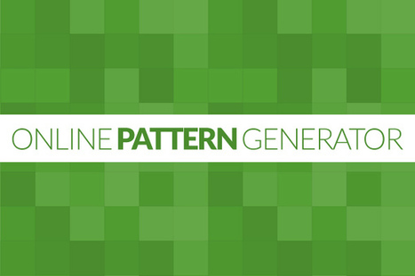 Free pattern generators: Here are eight tools you want to bookmark | elearning stuff | Scoop.it
