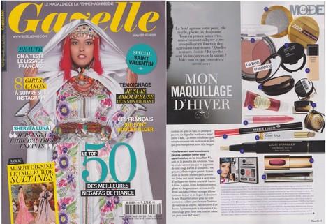 GAZELLE - Janvier 14   Beauty Push, bureau de presse   Scoop.it