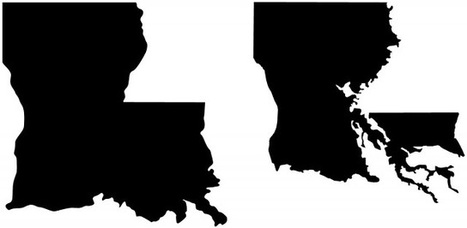 Louisiana in Tough Shape | Geography Education | Scoop.it