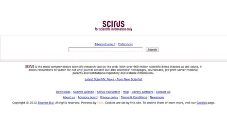 Scirus - for scientific information | Lifelong Learning Topics | Scoop.it
