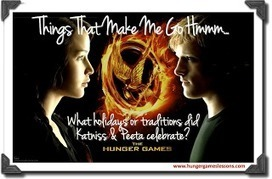 Hunger Games Lessons: Things That Make Me Go Hmmm... District 12 Traditions & Giving Thanks | Hunger Games Teaching Resources | Scoop.it