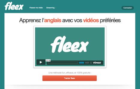 Fleex - apprenez l'anglais avec vos vidéos préférées | Internet 2013 | Scoop.it