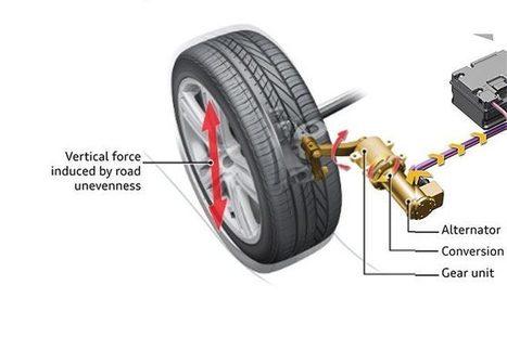 Audi eRot : des amortisseurs capable de produire de l'électricité | Voitures anciennes - Classic cars - Concept cars | Scoop.it