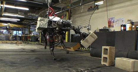 Le BigDog encore plus puissant qu'avant | Actualités robots et humanoïdes | Scoop.it