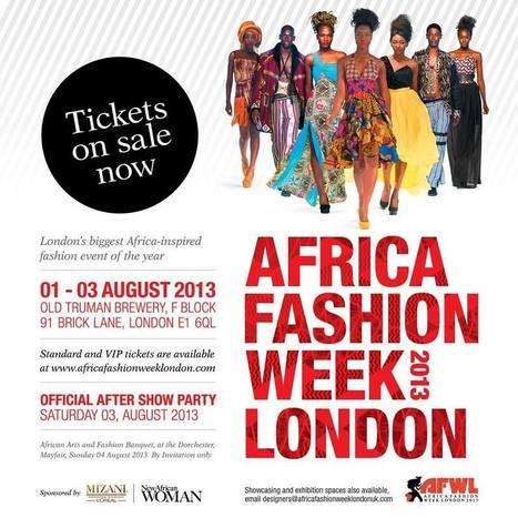AFRICA FASHION WEEK LONDON 2013 Africa Fashion