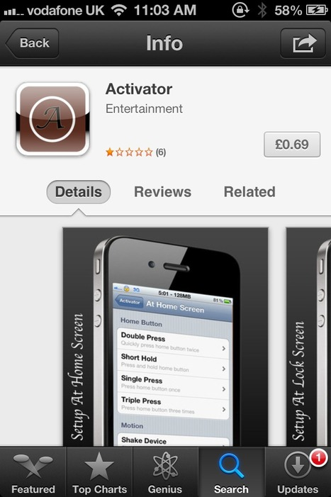 Activator – Another App Store Scam Appears In The iPhone App Store | From the Apple Orchard | Scoop.it