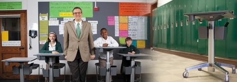Standing Desks Get Students to Move their Feet and Brains   Education Today and Tomorrow   Scoop.it