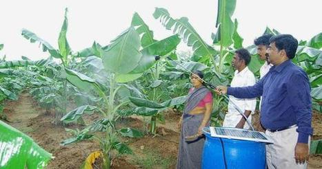 Solar powered 'drought fighter' ensures water for small farms   GMOs & FOOD, WATER & SOIL MATTERS   Scoop.it