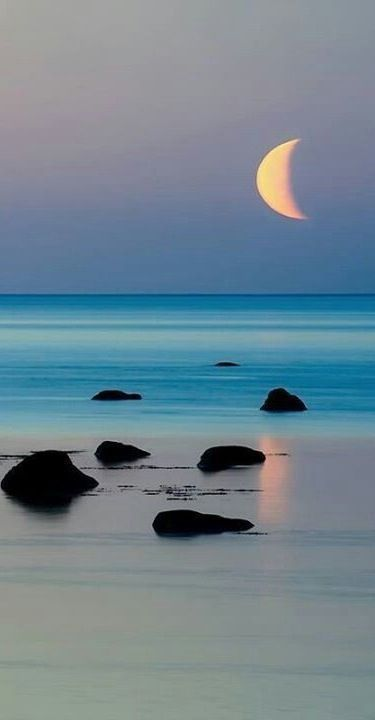 Moon & Beach...... | LOVELY | Scoop.it