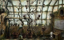 Two Nerds Productions: Machinarium Review - Zak | Botany Whimsy | Scoop.it