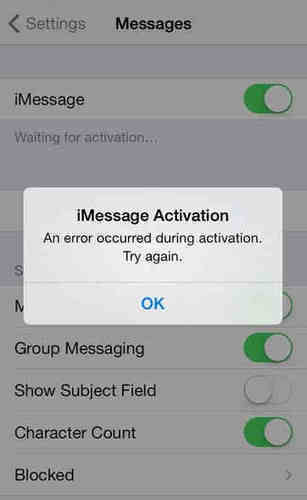 waiting for activation imessage' in How To iSolve - Best