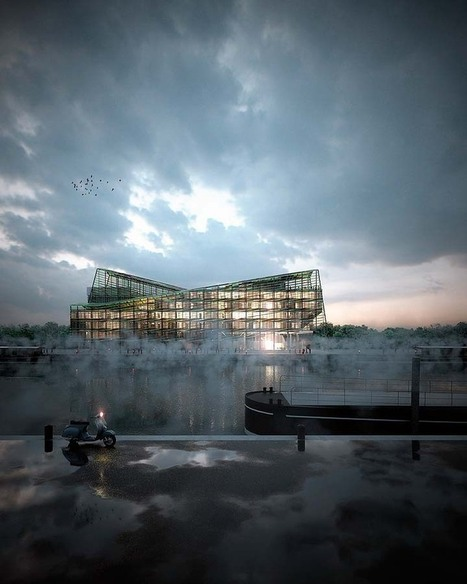 SPLANN   IMAGE   Architectural renderings and digital architecture   Scoop.it