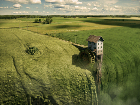 The beautiful surreal worlds of Erik Johansson | The brain and illusions | Scoop.it