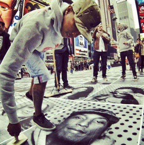 Turning New York City INSIDE OUT: Volunteering at JR's photo truck | TED Blog | Culture tourisme et com | Scoop.it