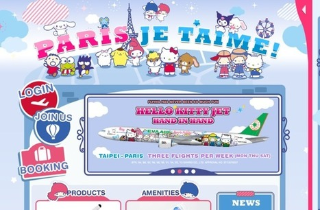 Eva Air's Hello Kitty crazyness | Allplane: Airlines Strategy & Marketing | Scoop.it