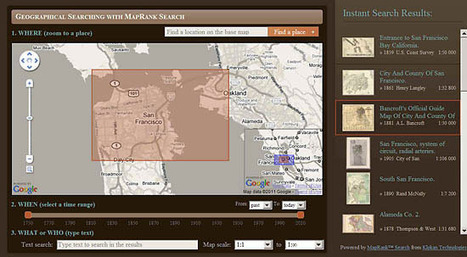 David Rumsey Historical Map Collection - over 30,000 images | 21st Century Homeschooling | Scoop.it