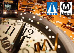 OCTA and LA Metro Offer FREE Transit on New YearsEve | green streets | Scoop.it