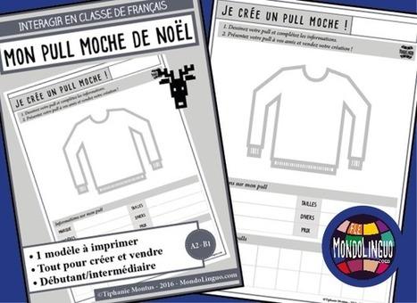 Mon pull moche de Noël   Mondolinguo - Français   L'Atelier de la Culture   Scoop.it