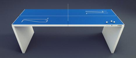 Next Generation Table Tennis | Les tendances déco-design de Moodds | Scoop.it