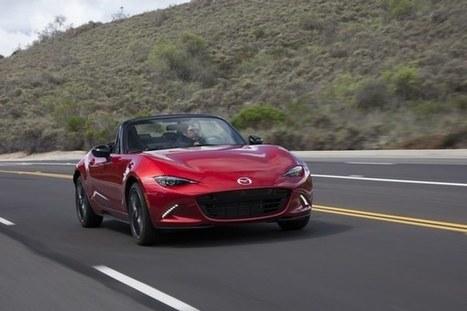 Svetovým autom roka 2016 je roadster Mazda MX-5   Doprava a technológie   Scoop.it