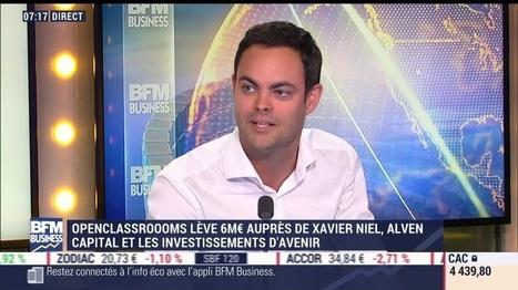 """Video : """"OpenClassrooms, la formation en ligne dans les métiers qui recrutent"""" (Interview de M.Nebra)   Sciences du numérique et e-education   Scoop.it"""