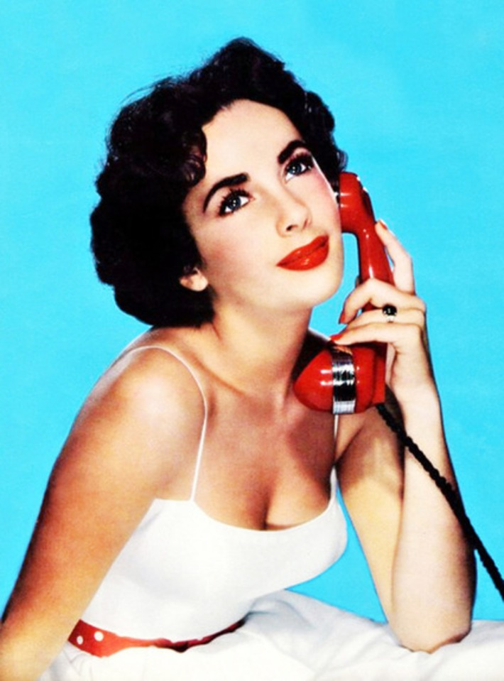 Phone Sex with Elizabeth Taylor, 1951. | Phone Sex | Scoop.it
