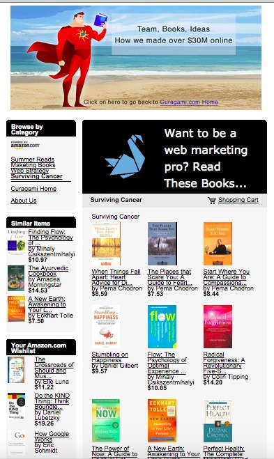 Surviving Cancer Books Added To Curagami Bookstore | Personal Branding Using Scoopit | Scoop.it