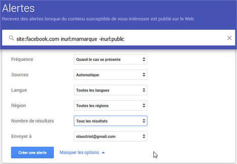 Comment intégrer Facebook, Twitter et Instagram dans votre veille Google Alerts | digitalcuration | Scoop.it