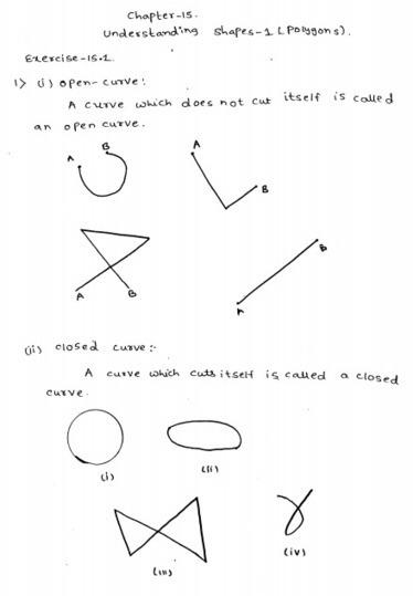 understanding shapes-I polygons RD Sharma Class