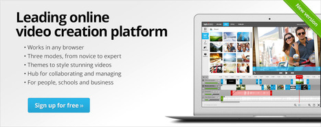 WeVideo - Collaborative Online Video Editor in the Cloud | ICT ideas | Scoop.it
