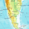 Géographie du Cône Sud