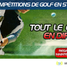 Golf live | Golf en direct | Golf streaming | classement golf | résultats golf