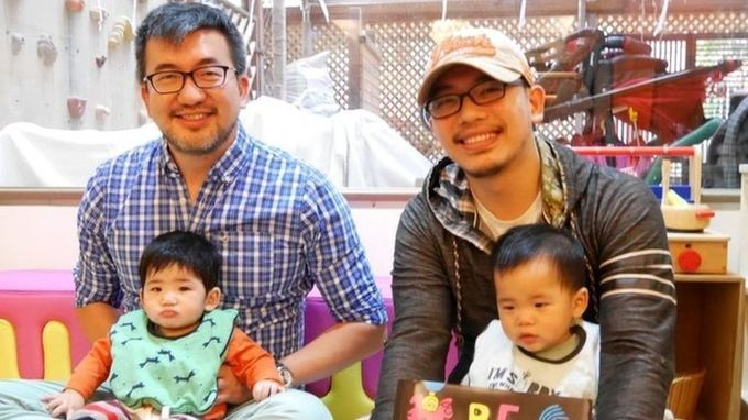 Taiwan's same-sex parents: 'We're like any other family'