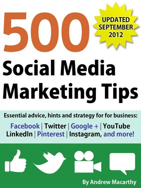 Book Review: 500 Social Media Marketing Tips - State of Search | Career Goals | Scoop.it