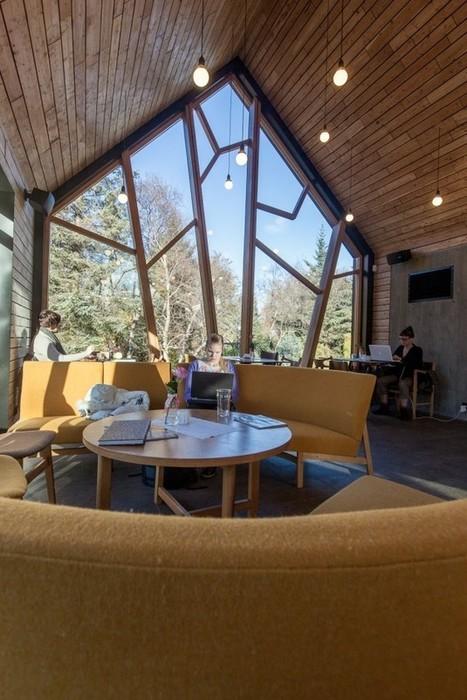 Cafe in the Botanical Gardens by Kollgata Arkitektur » CONTEMPORIST | Arte y Fotografía | Scoop.it