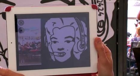 Quand le Street-Art rencontre la réalité augmentée | TICE & FLE | Scoop.it