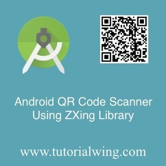 Implement Android QR Code Scanner Using ZXing L