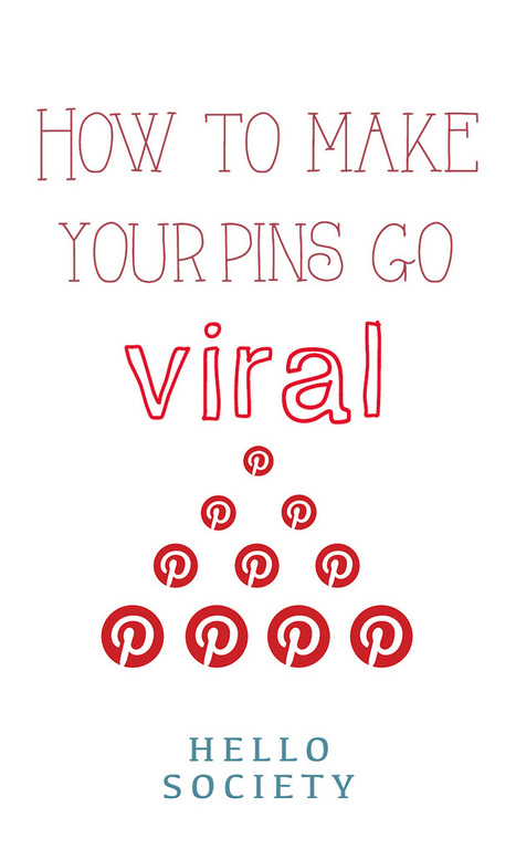 How To Make Your Pins Go Viral   Pinterest Stats, Strategies + Tips   Scoop.it